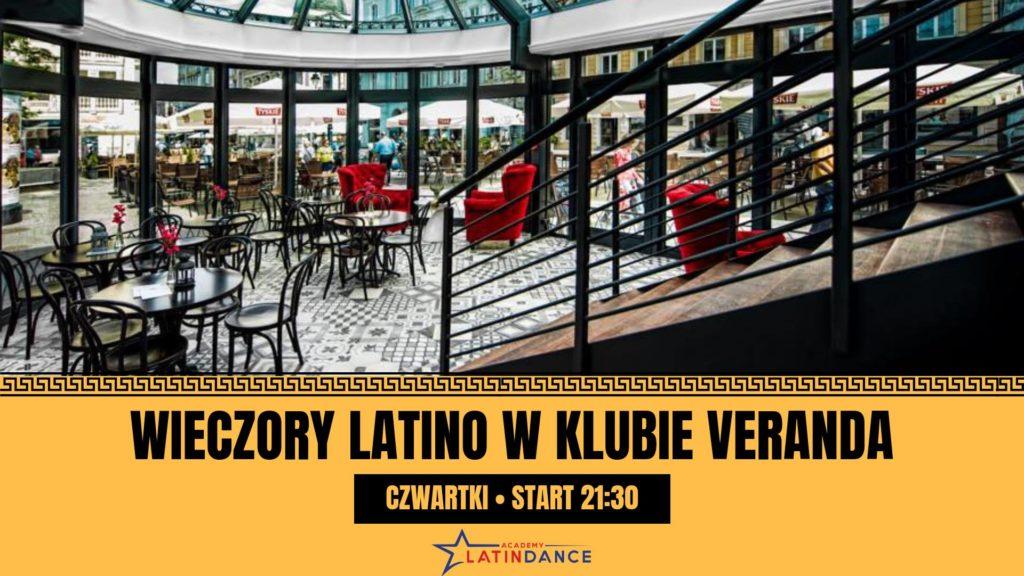 czwartkowe wieczory latino w klubie veranda