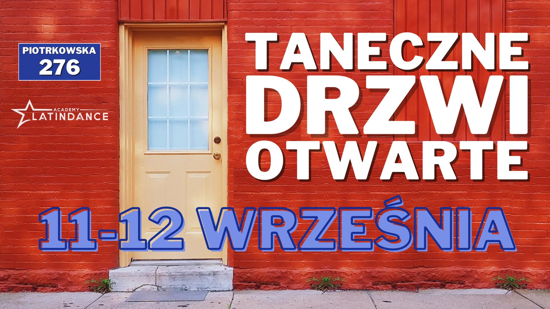 Taneczne Drzwi Otwarte w Łodzi