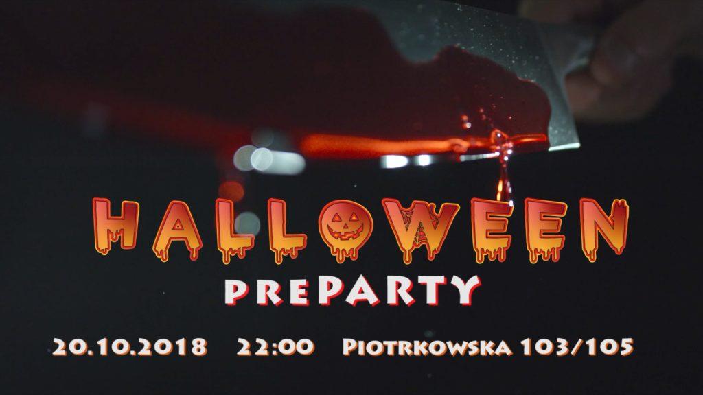 preParty halloweenowe