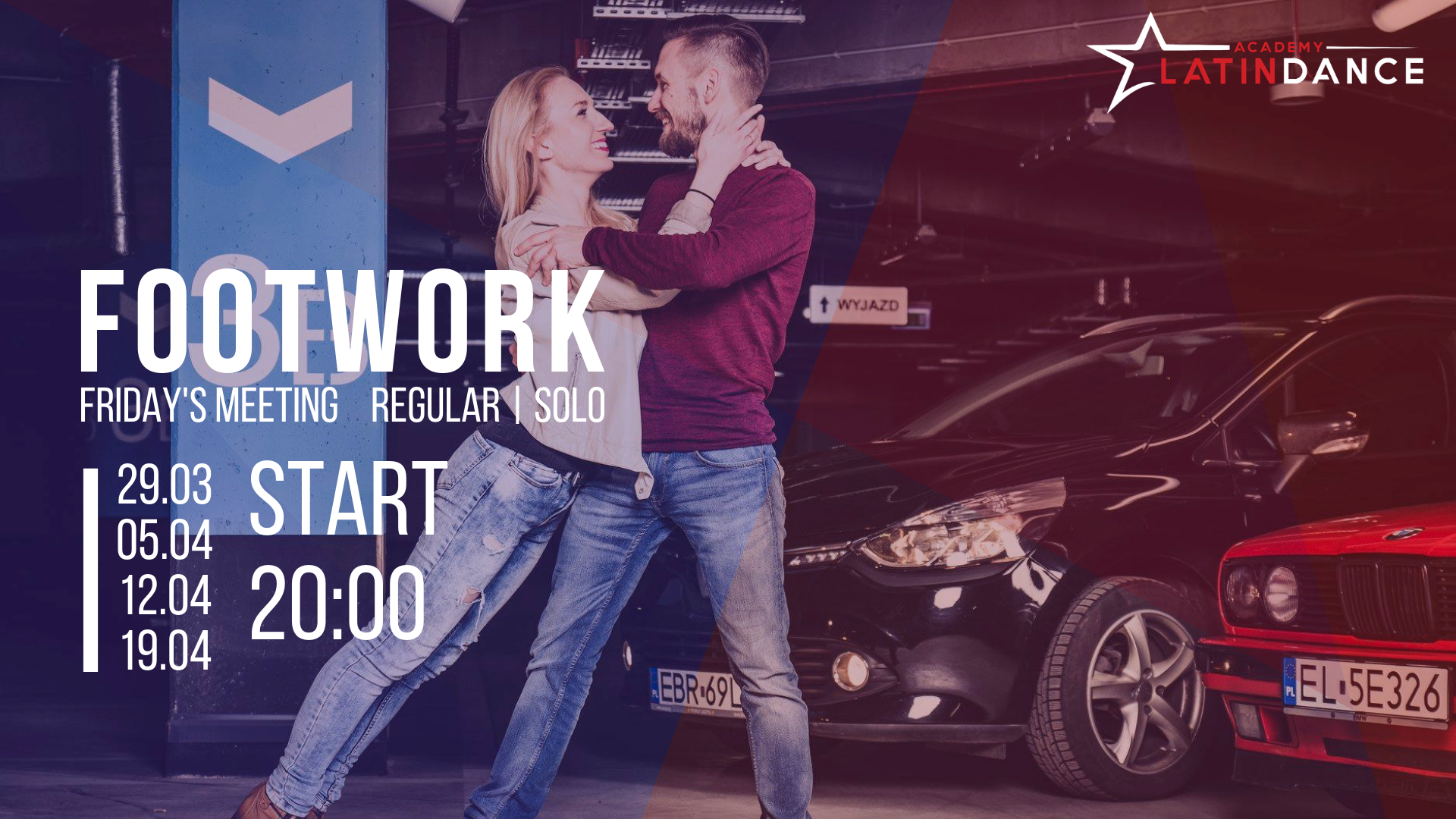 Footwork Friday's Meeting z Marcinem i Magdą!